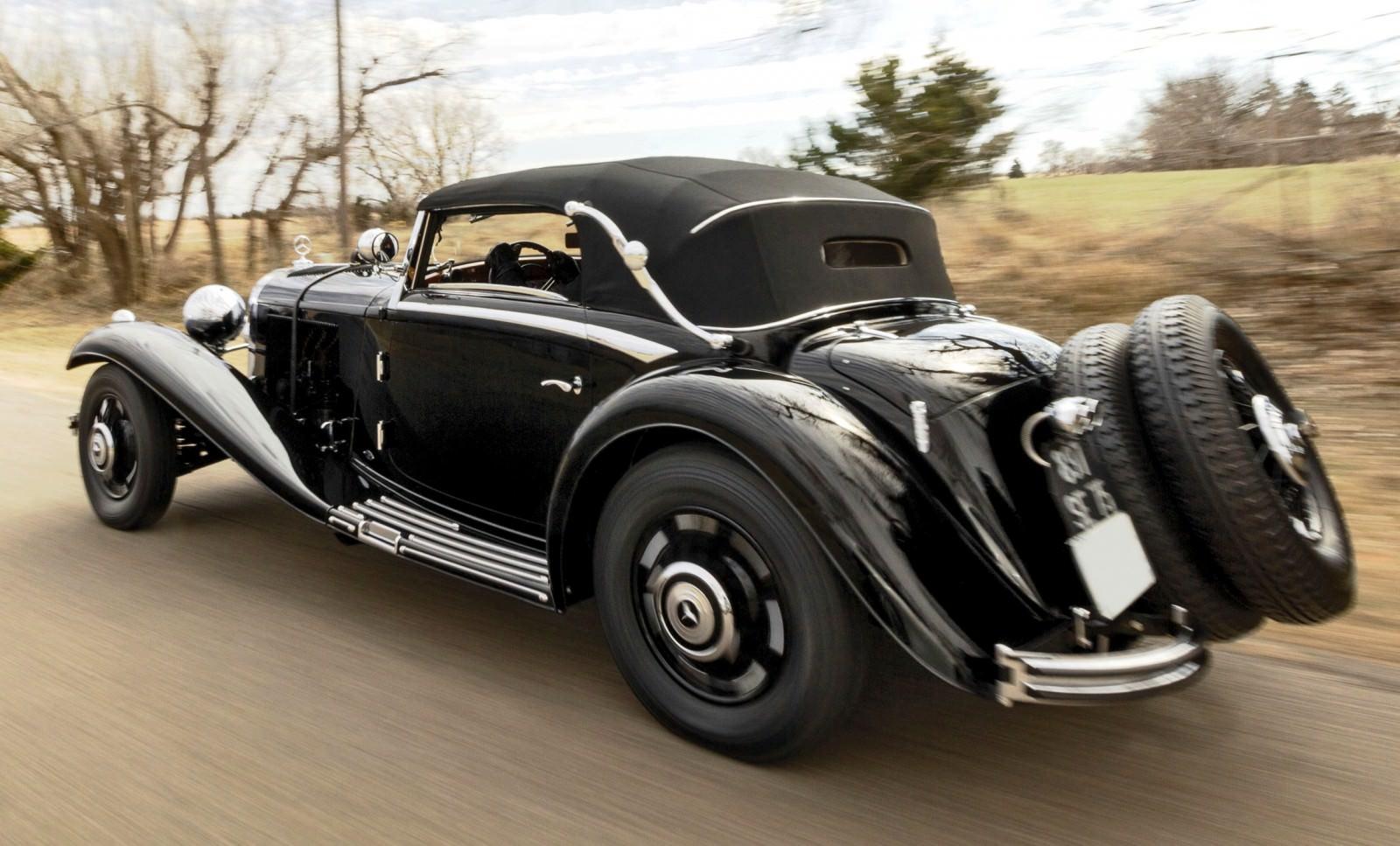 1935 Mercedes Benz 500 540k Cabriolet A By Sindelfingen