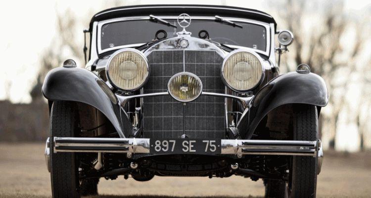1935 Mercedes-Benz 500-540K Cabriolet A by Sindelfingen