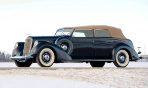 1937 Lincoln Model K Convertible Sedan by LeBaron 1