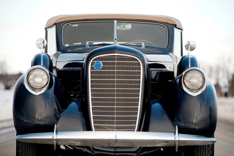 1937 Lincoln Model K Convertible Sedan by LeBaron 10