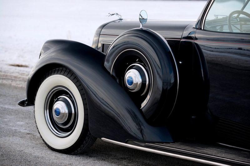 1937 Lincoln Model K Convertible Sedan by LeBaron 15