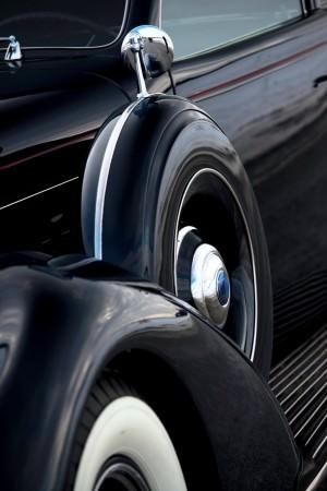 1937 Lincoln Model K Convertible Sedan by LeBaron 17