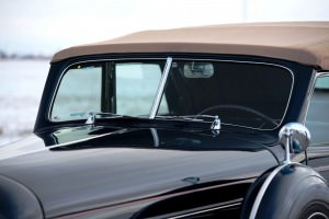 1937 Lincoln Model K Convertible Sedan by LeBaron 18