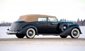 1937 Lincoln Model K Convertible Sedan by LeBaron 2