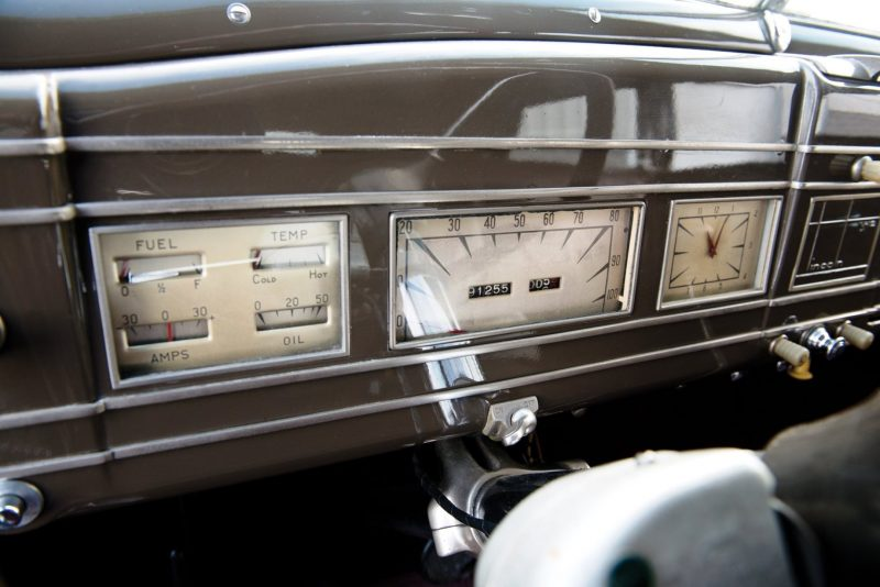 1937 Lincoln Model K Convertible Sedan by LeBaron 22