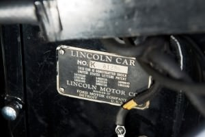 1937 Lincoln Model K Convertible Sedan by LeBaron 25