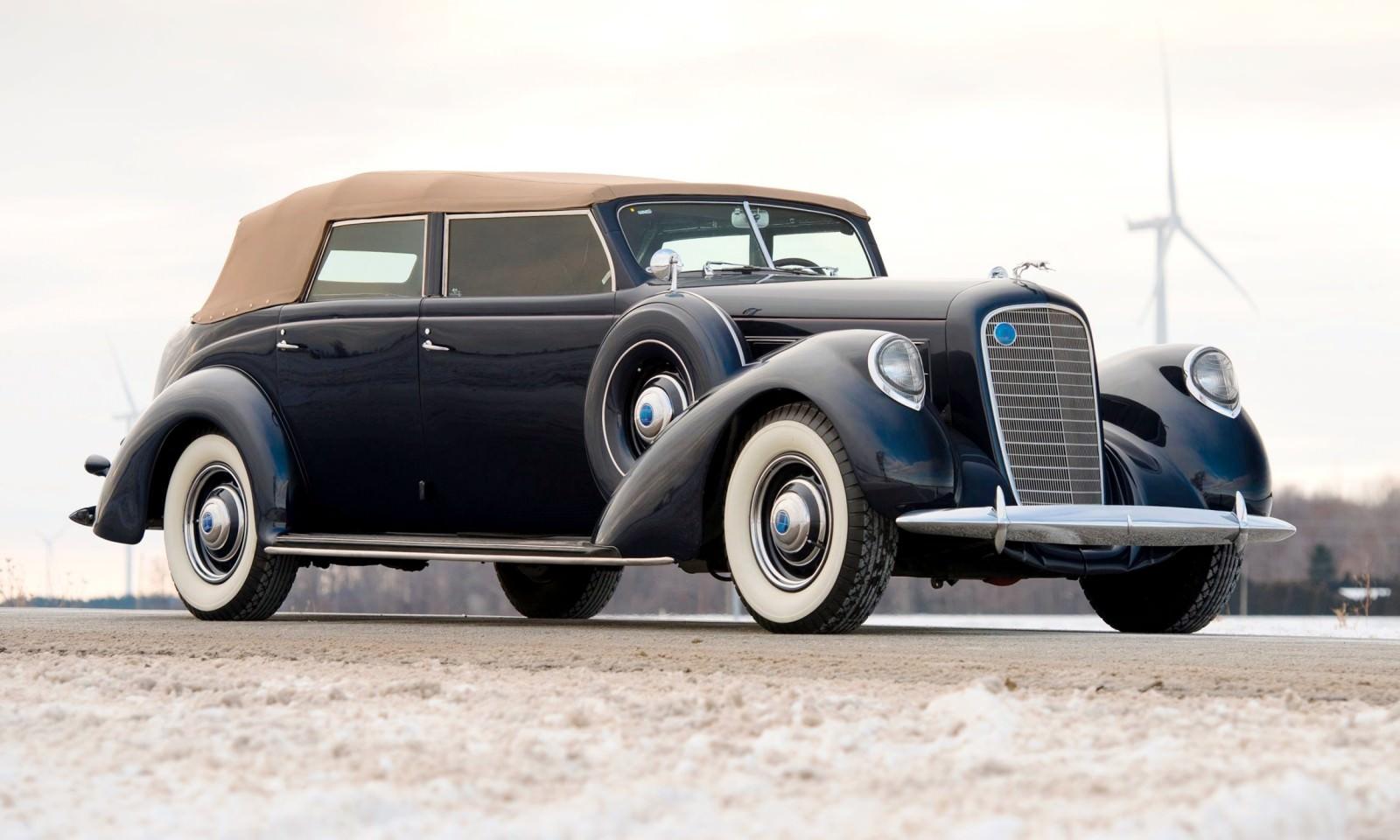 1937 Lincoln Model K Convertible Sedan By Lebaron