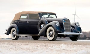 1937 Lincoln Model K Convertible Sedan by LeBaron 28