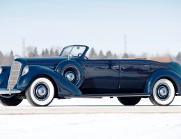 RM Amelia Island 2015 Preview – 1937 Lincoln Model K Convertible Sedan by LeBaron
