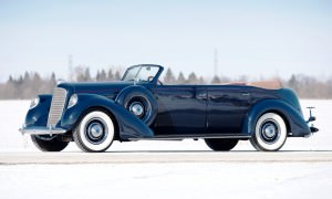 1937 Lincoln Model K Convertible Sedan by LeBaron 29
