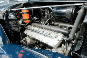 1937 Lincoln Model K Convertible Sedan by LeBaron 3