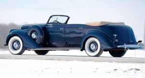 1937 Lincoln Model K Convertible Sedan by LeBaron 30