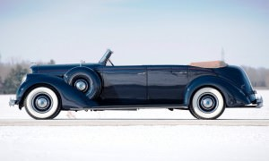 1937 Lincoln Model K Convertible Sedan by LeBaron 31