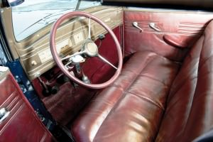 1937 Lincoln Model K Convertible Sedan by LeBaron 4
