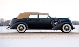 1937 Lincoln Model K Convertible Sedan by LeBaron 5