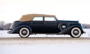 1937 Lincoln Model K Convertible Sedan by LeBaron 5
