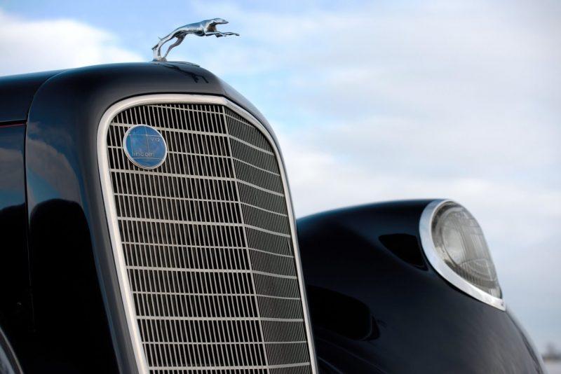 1937 Lincoln Model K Convertible Sedan by LeBaron 8