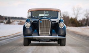 1937 Lincoln Model K Convertible Sedan by LeBaron 9