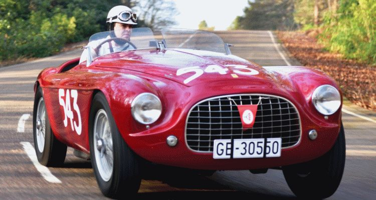 1952 Ferrari 212 Export Barchetta by Touring Superleggera