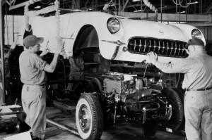 1953-chevrolet-corvette-assembly