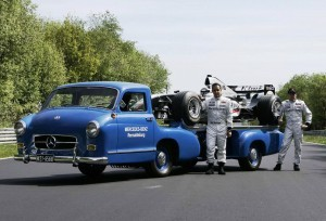 1954 Mercedes-Benz 'Blue Wonder' Race Transporter 17