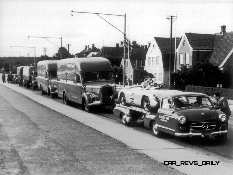 1954 Mercedes-Benz 'Blue Wonder' Race Transporter 19