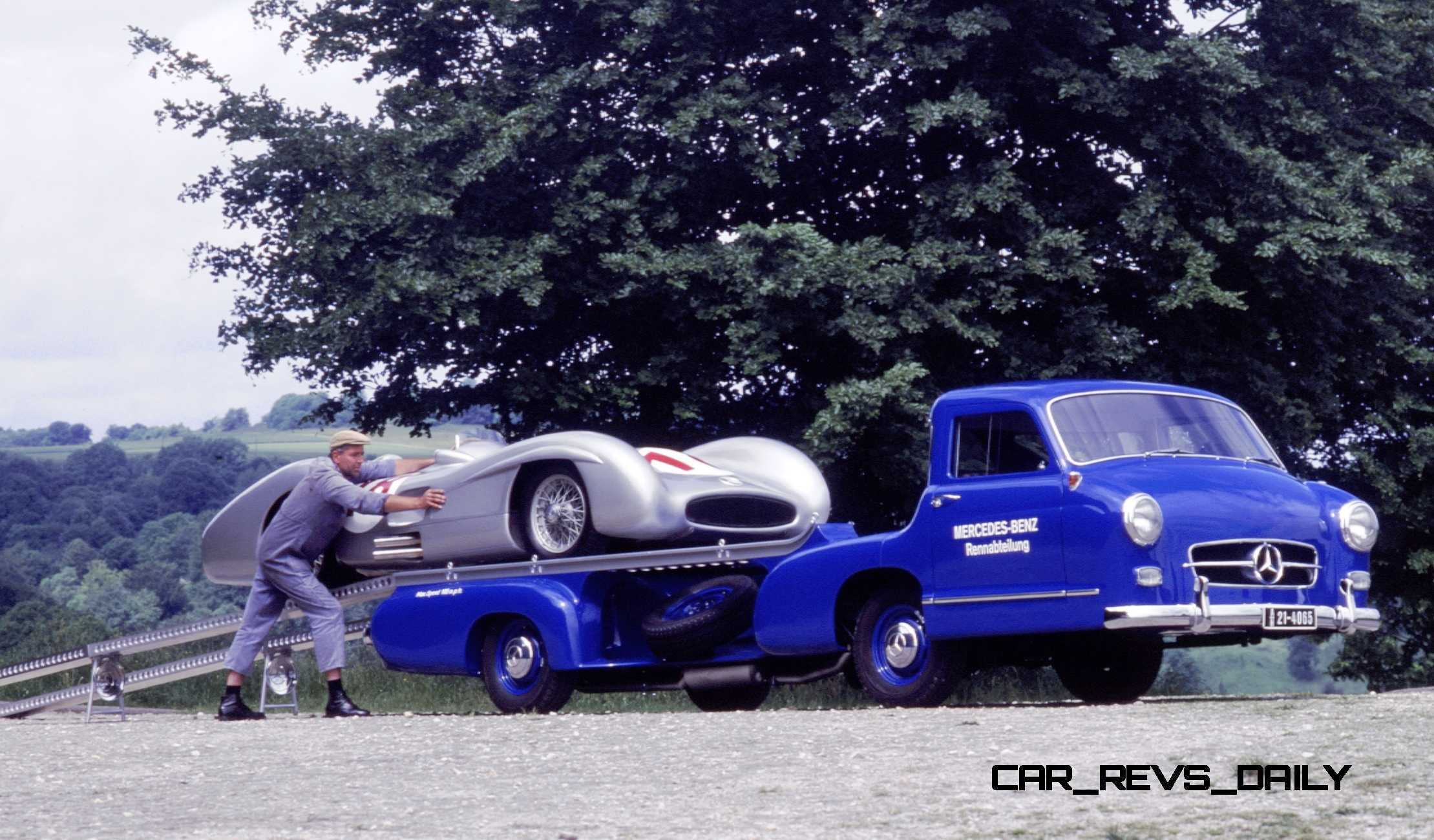 1954 Mercedes Benz Blue Wonder Race Transporter 35