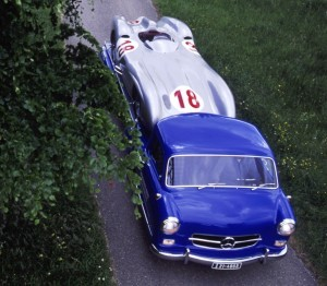 1954 Mercedes-Benz 'Blue Wonder' Race Transporter 36