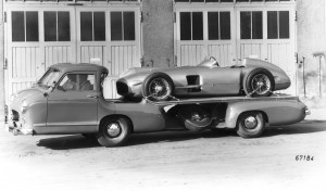 1954 Mercedes-Benz 'Blue Wonder' Race Transporter 41