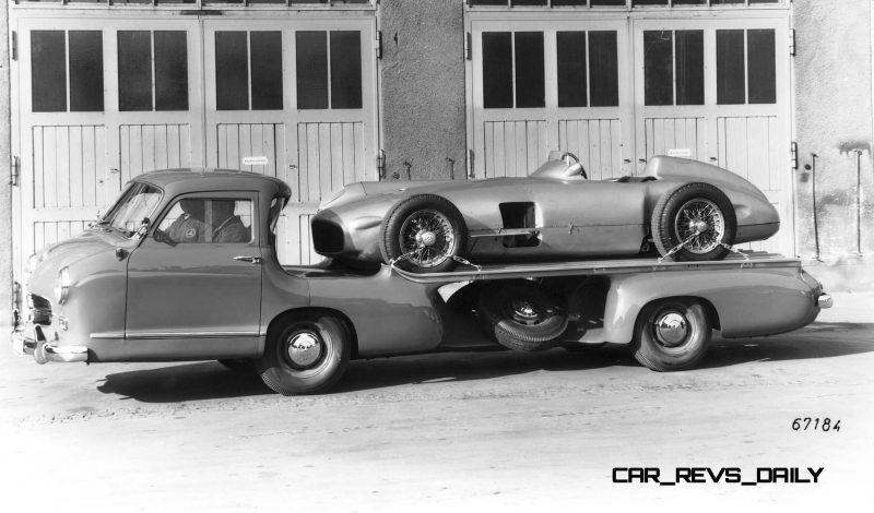 1954 Mercedes-Benz 'Blue Wonder' Race Transporter 41