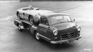 1954 Mercedes-Benz 'Blue Wonder' Race Transporter 42