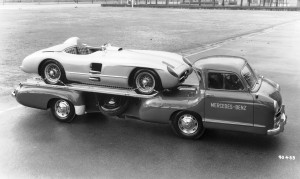 1954 Mercedes-Benz 'Blue Wonder' Race Transporter 43
