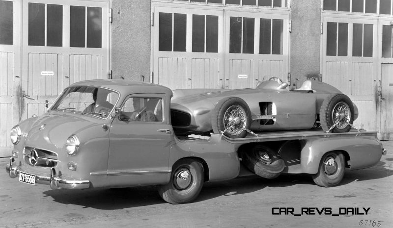1954 Mercedes-Benz 'Blue Wonder' Race Transporter 46