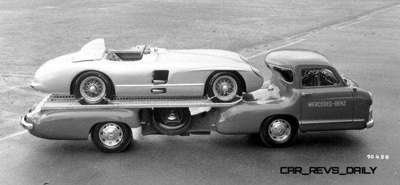 1954 Mercedes-Benz 'Blue Wonder' Race Transporter 48