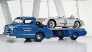 1954 Mercedes-Benz 'Blue Wonder' Race Transporter 49