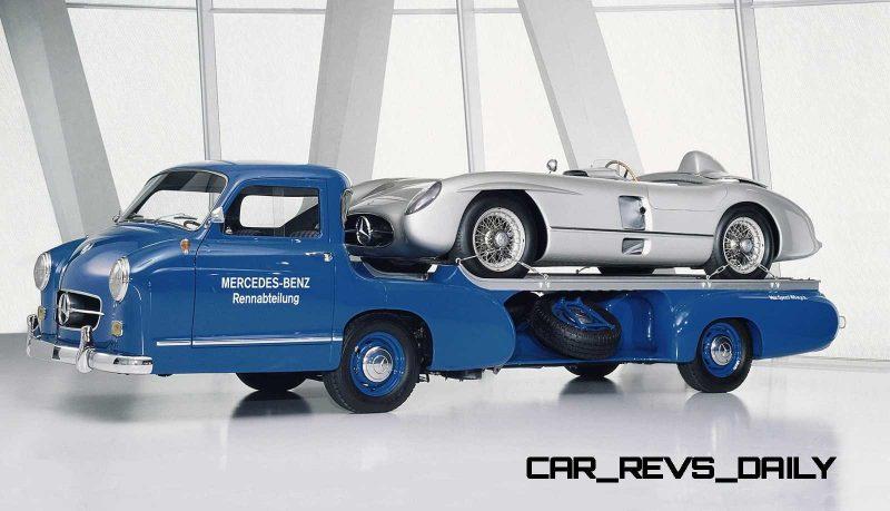 1954 Mercedes-Benz 'Blue Wonder' Race Transporter 49