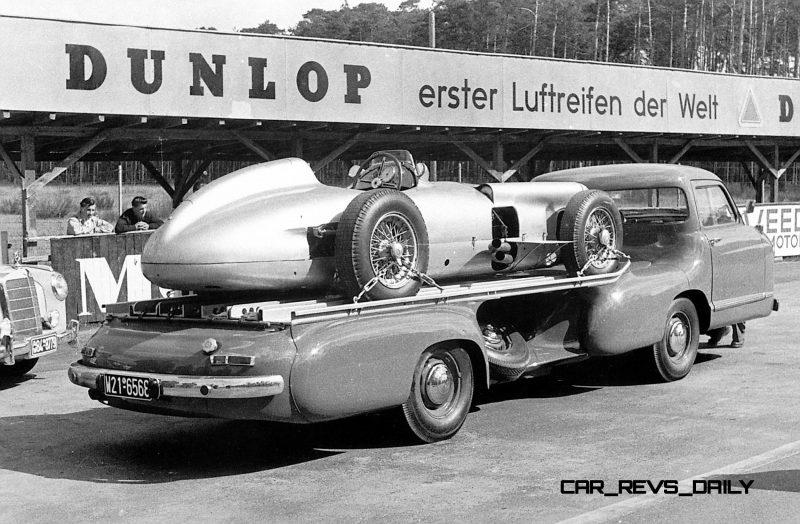 1954 Mercedes-Benz 'Blue Wonder' Race Transporter 52