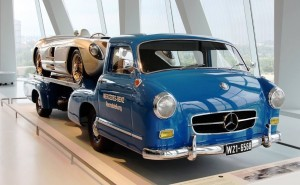 1954 Mercedes-Benz 'Blue Wonder' Race Transporter 54