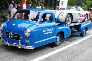 1954 Mercedes-Benz 'Blue Wonder' Race Transporter 55