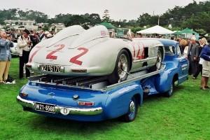 1954 Mercedes-Benz 'Blue Wonder' Race Transporter 56