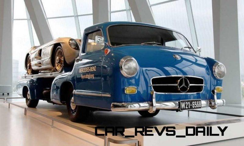 1954 Mercedes-Benz 'Blue Wonder' Race Transporter 59