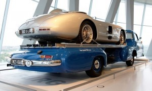 1954 Mercedes-Benz 'Blue Wonder' Race Transporter 60