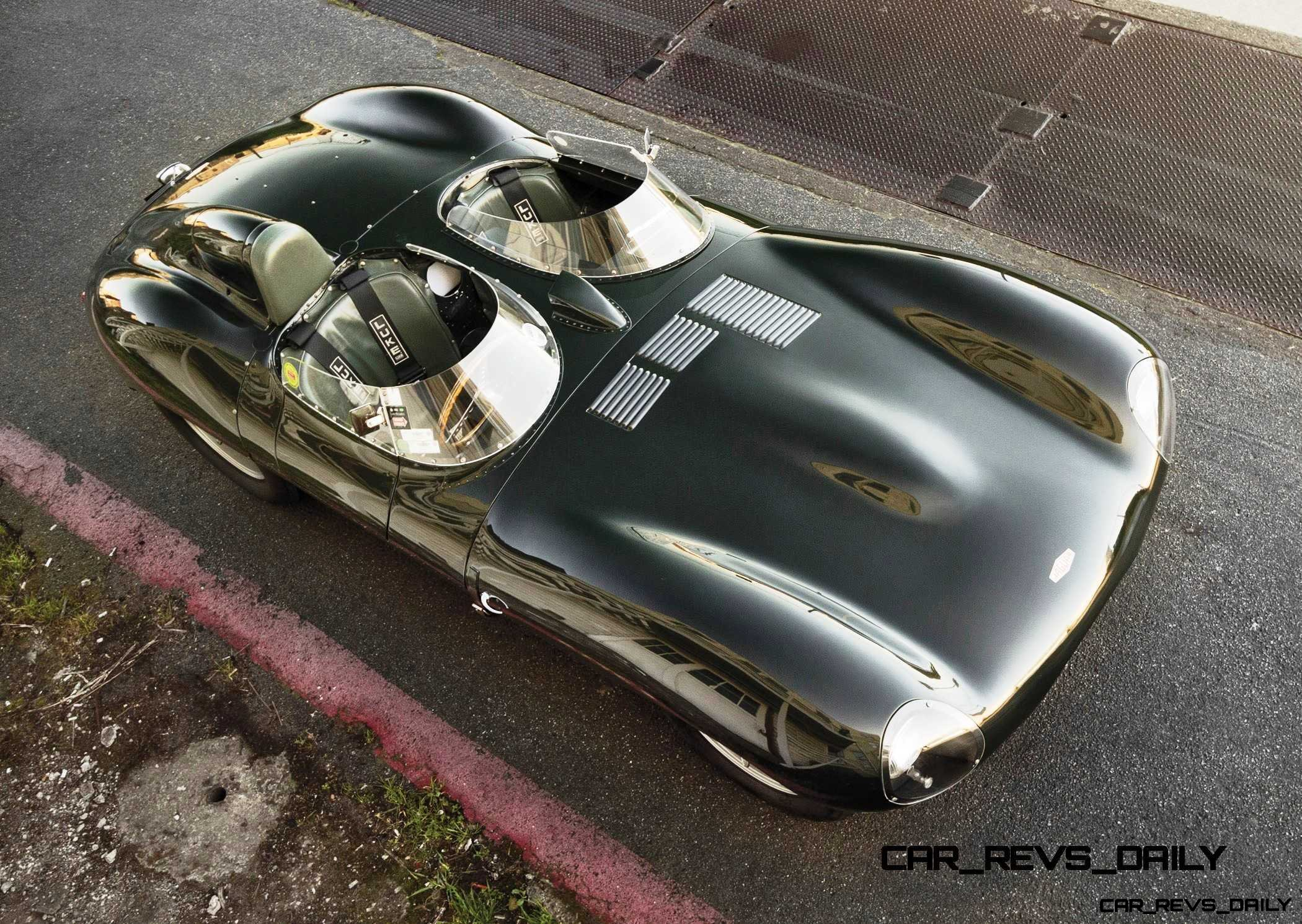 1955 Jaguar D-Type Twin-Cowl 15
