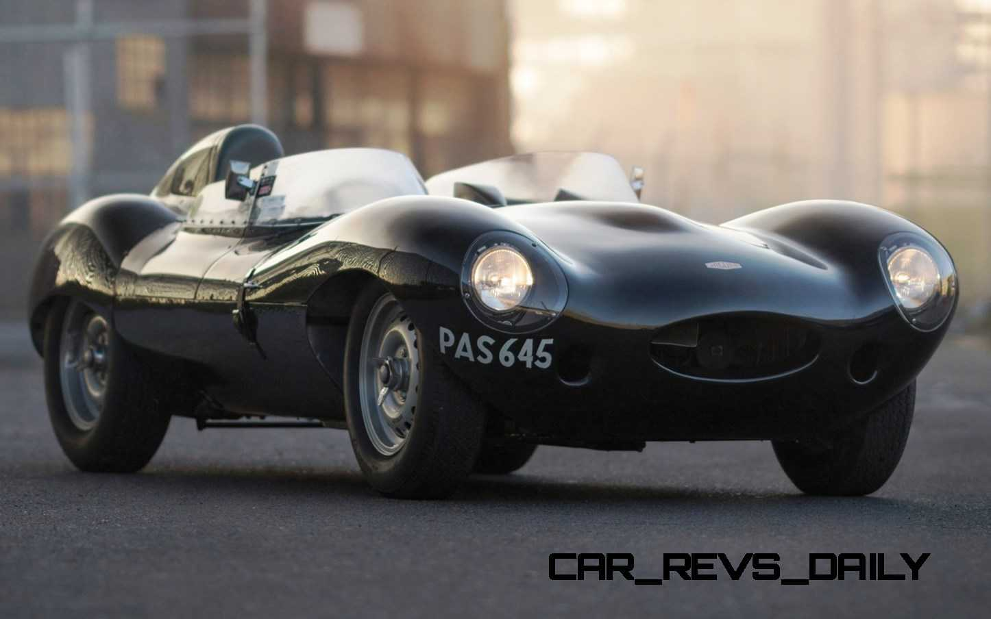 1955 Jaguar D Type Twin Cowl
