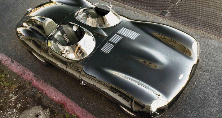 1955 Jaguar D-Type Twin-Cowl