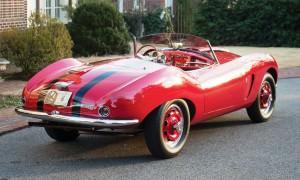 1956 Arnolt-Bristol Deluxe Roadster by Bertone 2