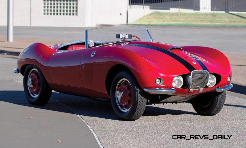 1956 Arnolt-Bristol Deluxe Roadster by Bertone 24
