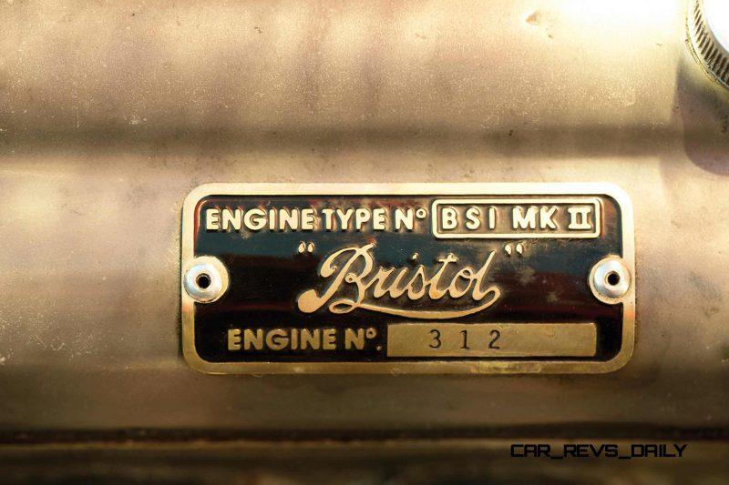 1956 Arnolt-Bristol Deluxe Roadster by Bertone 31