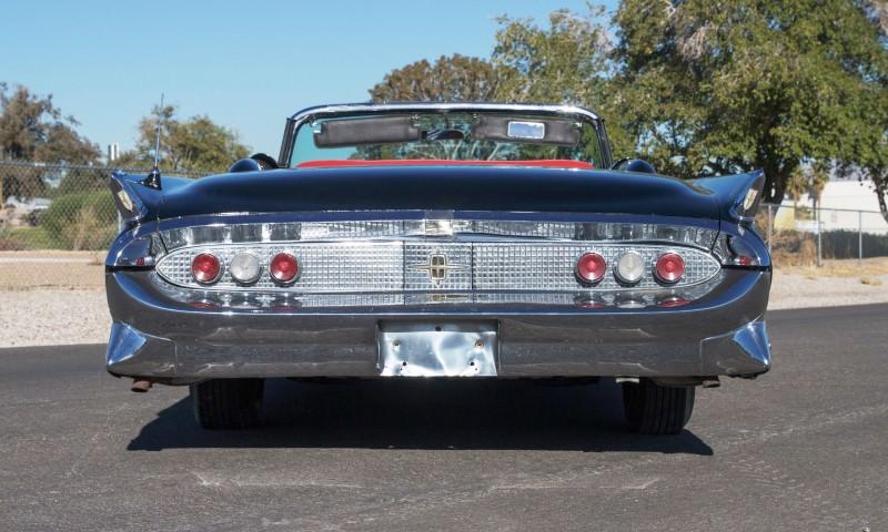 1958 Lincoln Continental Mark III Convertible  4
