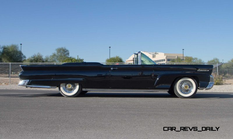 1958 Lincoln Continental Mark III Convertible 6